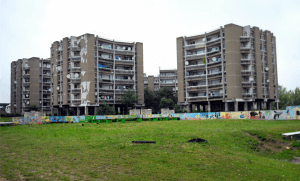 Clichy-sous-Bois en Seine-Saint-Denis. Photo: Prioli/Leemage