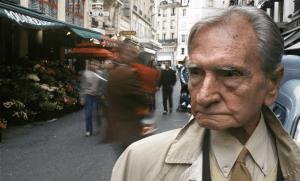 Albert Cossery à Paris, octobre 1999. SIPA. SIPAUSA30050412_000003