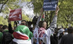 Manifestation pro-palestinienne à Paris, avril 2017. SIPA. 00800557_000016