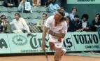 Björn Borg en demi-finale de Roland-Garros 1981, Paris. SIPA. 00005214_000001