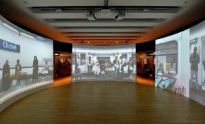 """Exposition """"Nous et les autres"""" au musée de l'Homme. Crédit photo : Musée de l'Homme."""