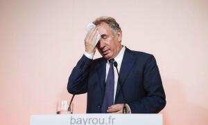 François Bayrou quitte le gouvernement, 21 juin 2017, Paris. SIPA. 00812026_000035