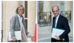 Le ministre de la Culture François Nyssen (à gauche) et le ministre de l'Education nationale Jean-Michel Blanquer (à droite). SIPA: 00808190_000013 / 00809249_000052