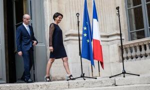 Passation de pouvoir entre Jean-Michel Blanquer et Najat Vallaud-Belkacem