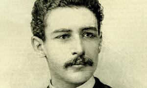 Gravure du jeune Léon Daudet. SIPA. 00561703_000031