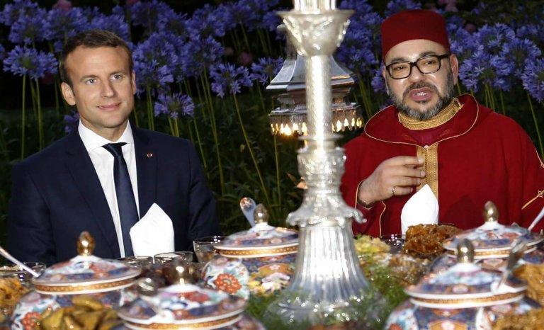 Maroc: Macron et Mohamed VI main dans la main