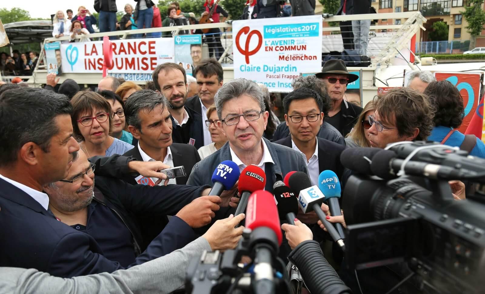 Jean-Luc Mélenchon, futur patron de presse ?