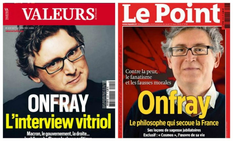 Michel Onfray, le raisonneur du vide