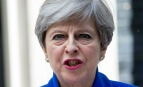 Theresa May, juin 2017. SIPA. Shutterstock40516473_000004