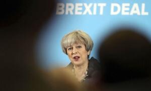 Le Premier ministre britannique Theresa May, juin 2017. SIPA. AP22060377_000001