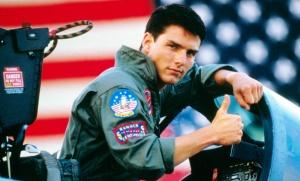 Tom Cruise dans Top Gun de Tony Scott, 1986