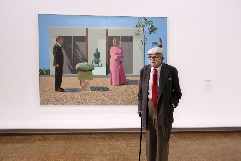 Hockney, explorateur de l'histoire de l'art