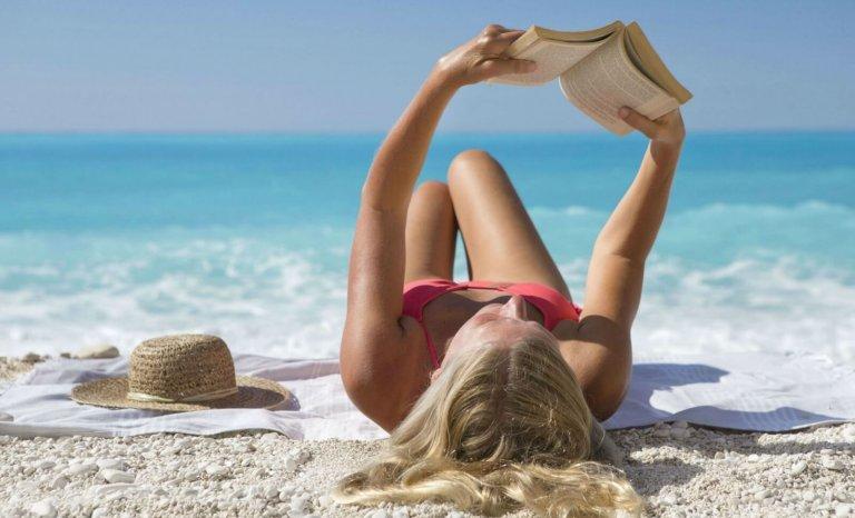 Vacances, j'oublie tout sauf de lire!