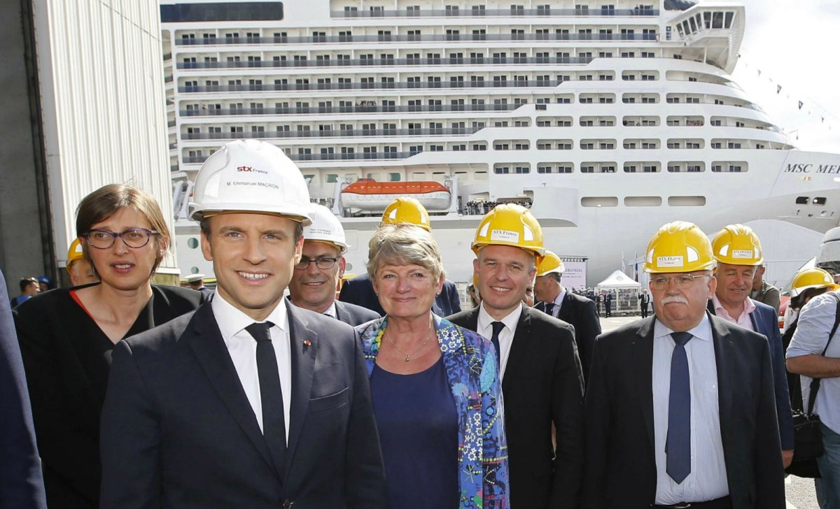 stx nationalisation macron