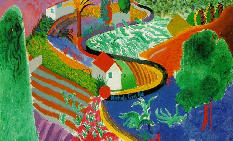 Hockney, toujours plus grand