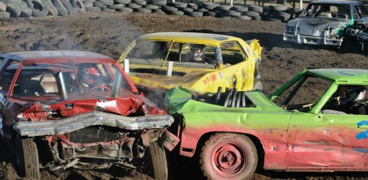 demolition derby stock car