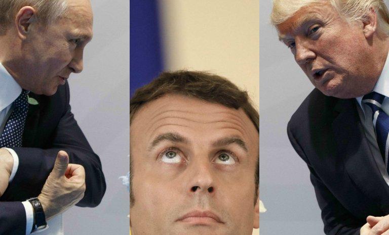 """""""La France pourrait retrouver une position médiane entre Washington et Moscou"""""""