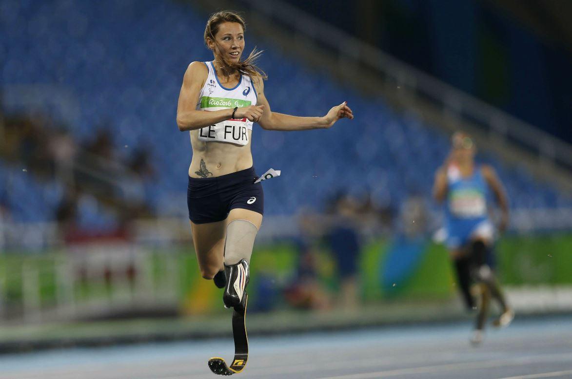 Marie-Amélie Le Fur aux Jeux paralympiques de Rio 2016. SIPA. AP21949683_000002