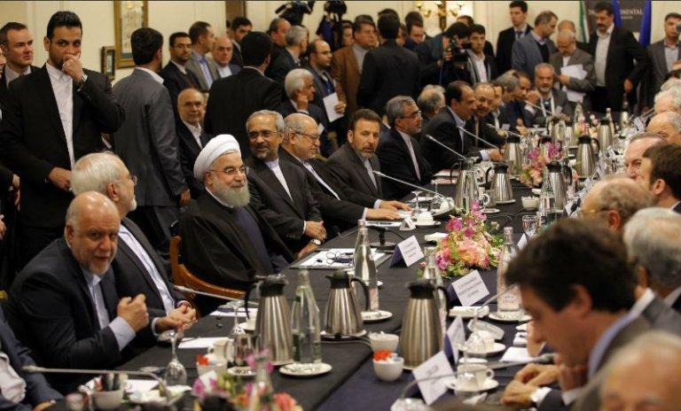 Menaces iraniennes: Macron au pied du mur