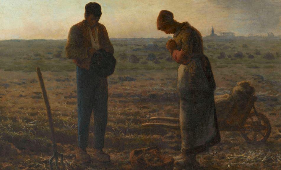 """""""L'Angelus"""", entre 1857 et 1859, huile sur toile, 55 x 66 cm, Paris, musée d'Orsay / Musée d'Orsay, RMN-Grand Palais / Patrice Schmidt"""