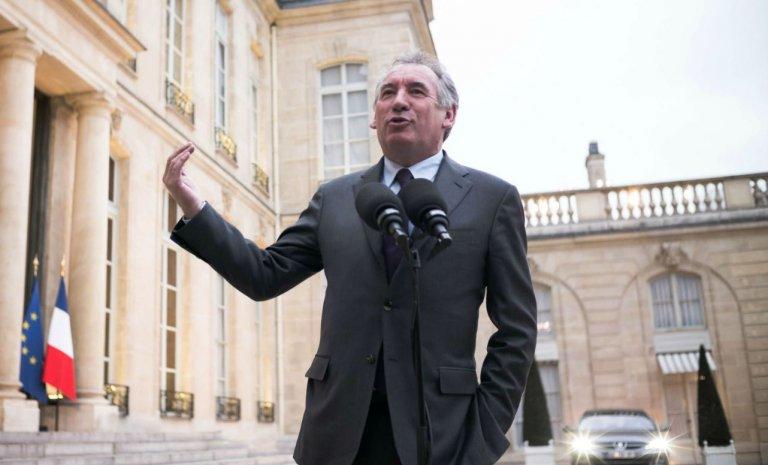 Février 2017, François Bayrou se déclare candidat à l'Elysée