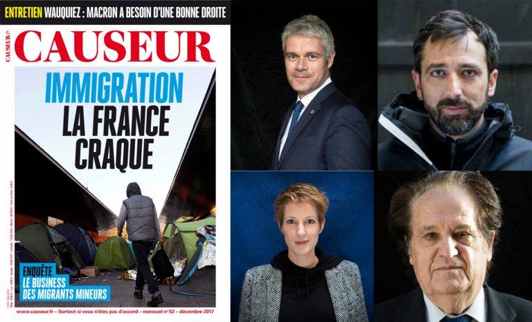 Causeur : Immigration, la France craque !