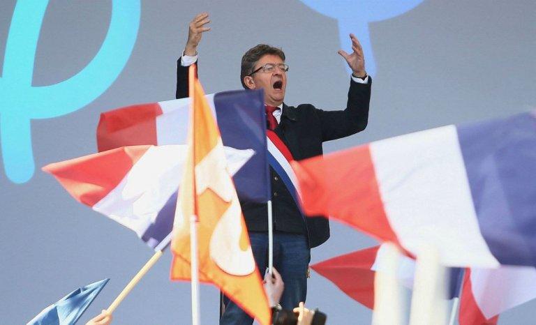 Mai 2017, Jean-Luc Mélenchon élu président de la République