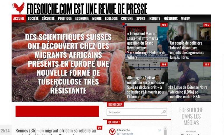"""Pierre Sautarel : """"Si j'ouvrais Fdesouche aujourd'hui, je lui donnerais un autre nom"""""""