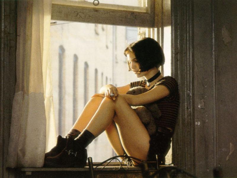 """Natalie Portman dans """"Léon"""" de Luc Besson, 1994."""