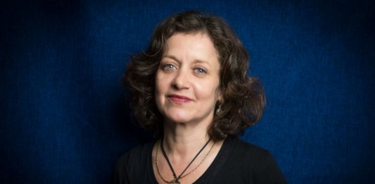 Elisabeth Lévy (Photo : Hannah Assouline). 2017.