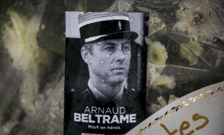 Arnaud Beltrame est immortel