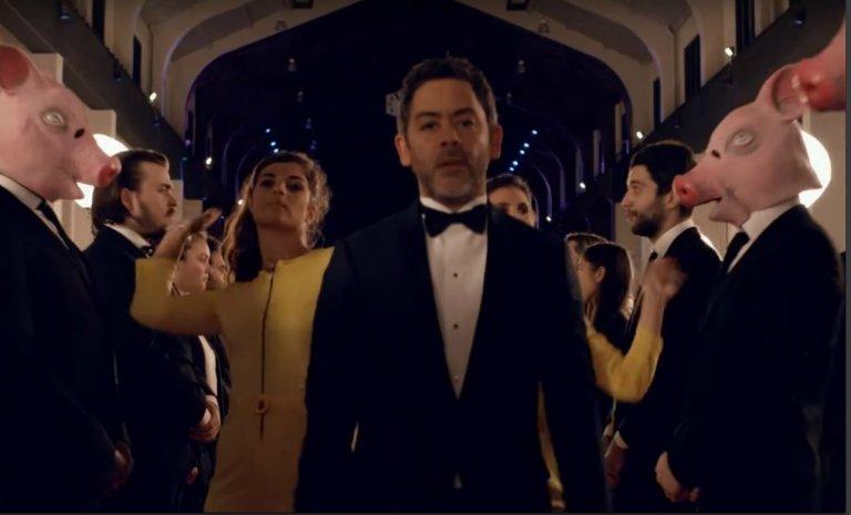 César 2018: ruban blanc et robe noire, Not in my name!
