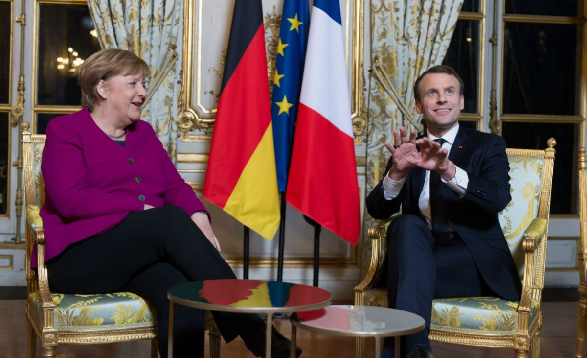 angela merkel macron spd europe