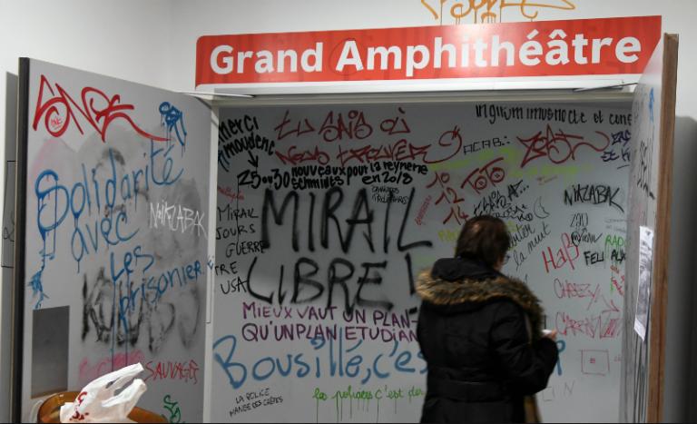 A Toulouse, l'extrême gauche colonise et bloque l'université du Mirail