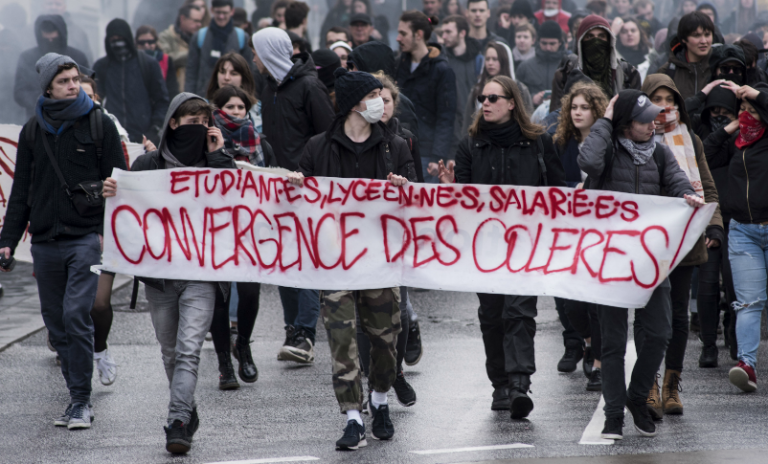 Cheminots-étudiants: pour la divergence des luttes!
