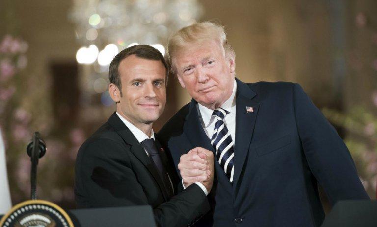 Macron en Amérique: une visite pour la photo