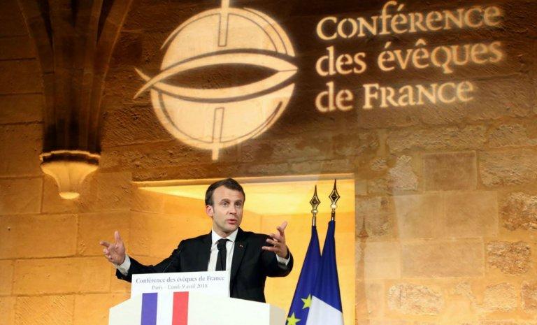 Discours de Macron aux Évêques de France: la courte échelle aux islamistes