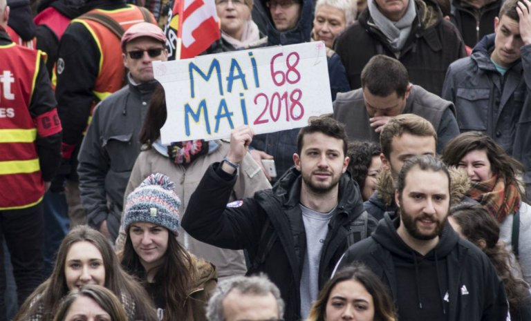 """""""Mai 68 a subi une défaite cuisante!"""""""