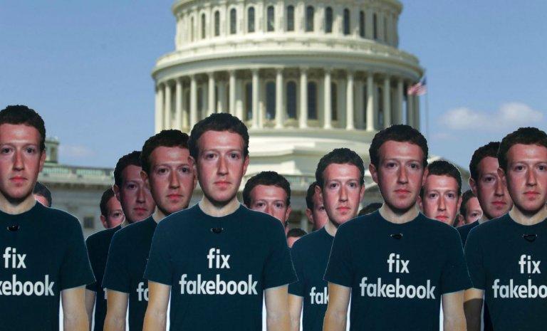 Mais si Mark Zuckerberg, Facebook fait de la politique