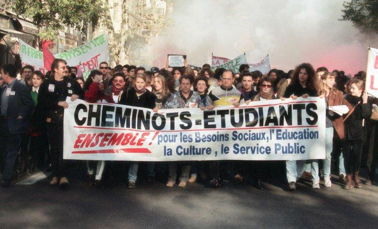"""""""La combativité sociale était bien plus forte en 1995"""""""
