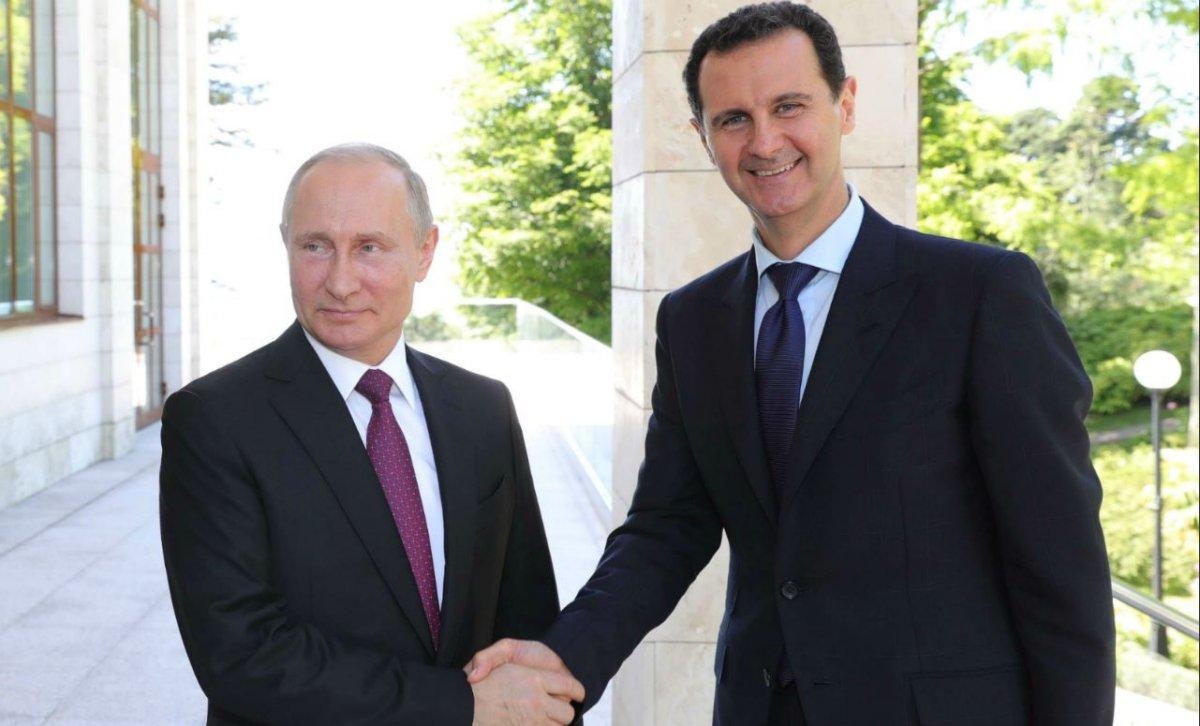 assad poutine israel syrie russie