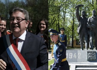 melenchon russie national bolchevisme