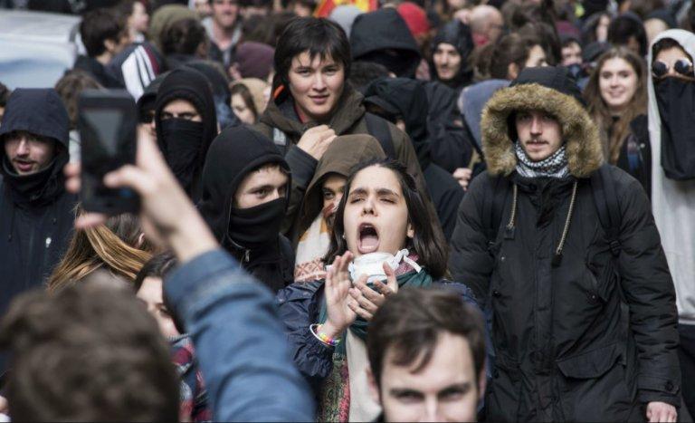Etudiants de Nantes : la grève du 1%