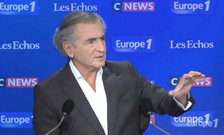 """Non Bernard-Henri Lévy, le solde migratoire de l'Europe n'est pas """"nul"""""""