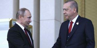 erdogan poutine syrie turquie