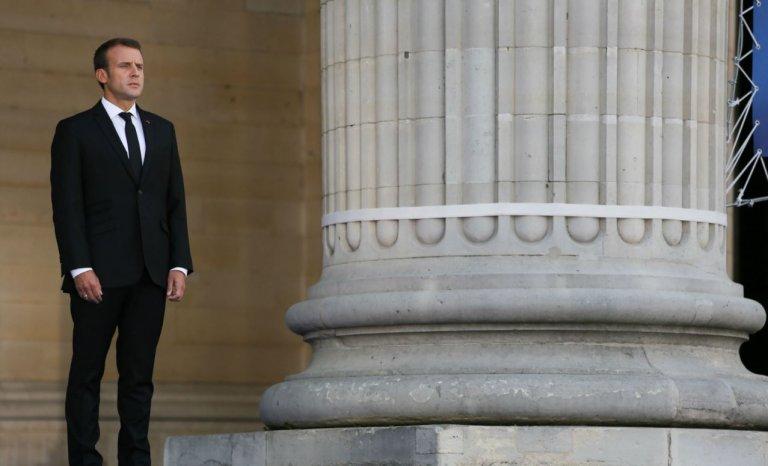 Vous aussi vous avez versé une larme sur le discours de Macron au Panthéon?