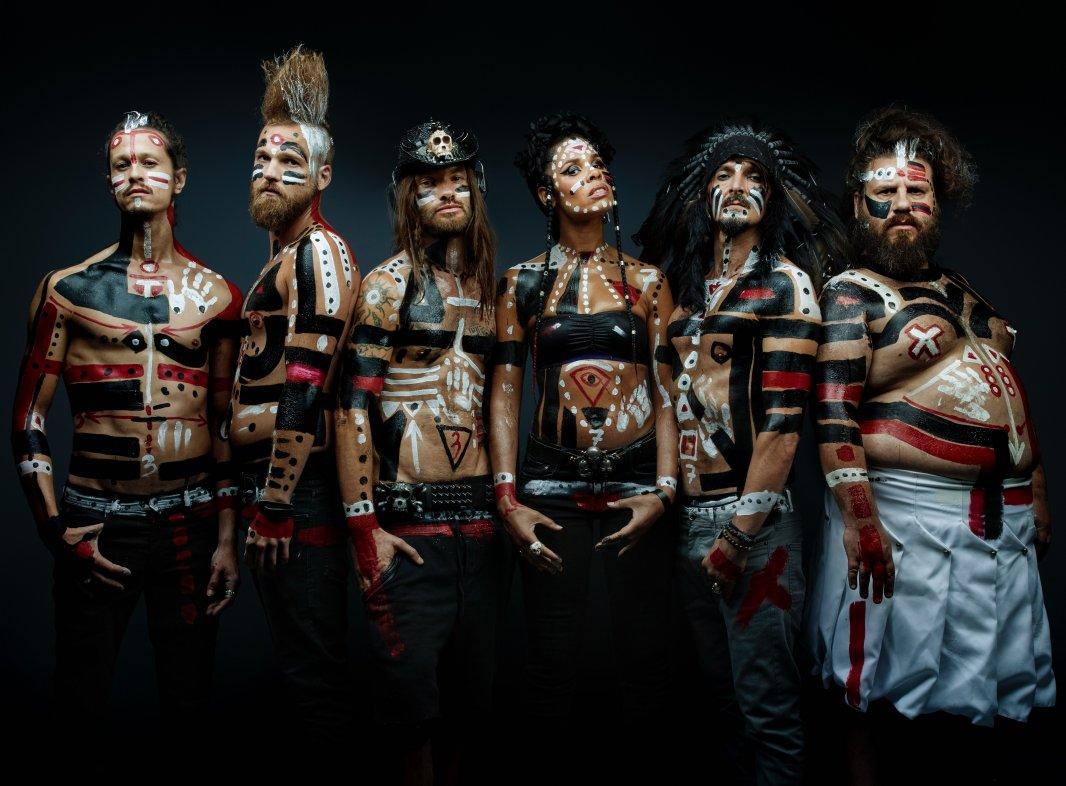 Le groupe Shaka Ponk. © Denis Rouvre