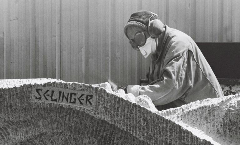 Shelomo Selinger, la mémoire dans la pierre