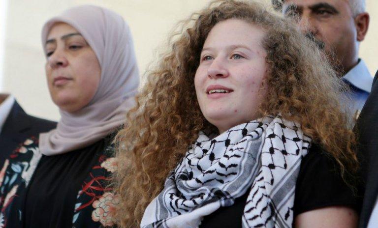Sainte Ahed, comédienne et icône de la cause palestinienne