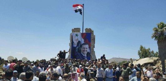 syrie assad balanche israel